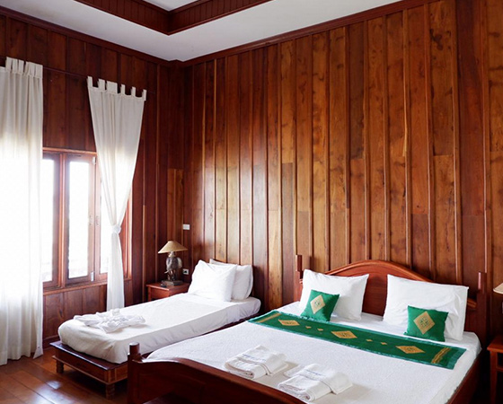 Accommodation In laos travelers